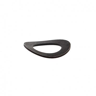 Bricka Onduflex A av svart stål Din 137A